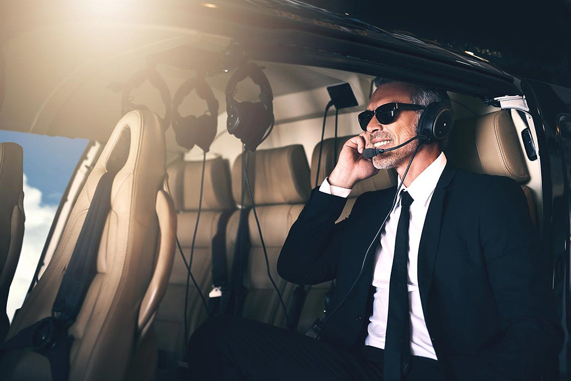 Executive Helicopter Charters in Tucson